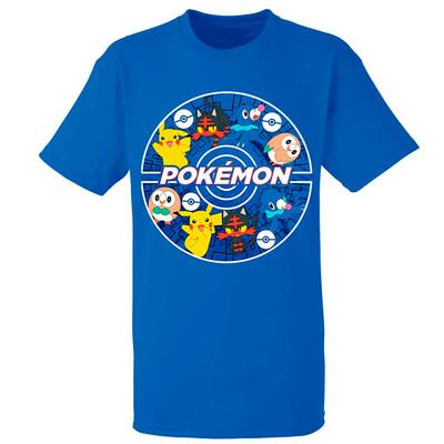Tshirt Pokemon Blue Nintendo original