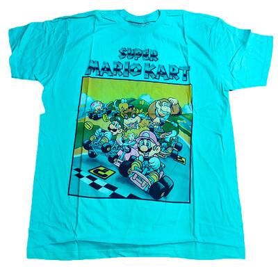 Tshirt Super Mario Kart Nintendo original
