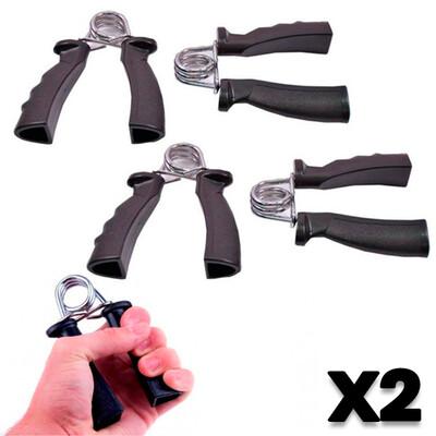 Combo de 2 pares: Ejercitadores de Manos Plastic Hand Grip