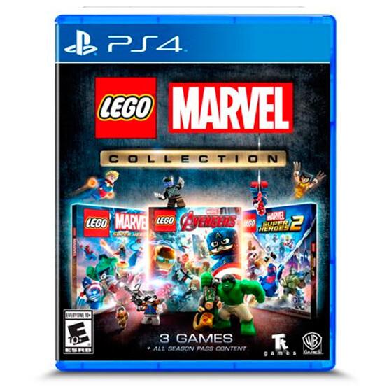 PS4 Lego marvel collection (3 juegos)