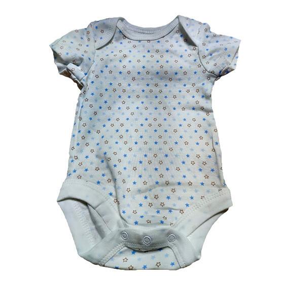 Body para recien nacido (estrellas azules)