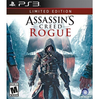 PS3 Assasins creed rogue Limited