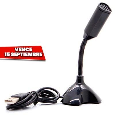 Microfono Usb Gamer Podcast. Vence 15 Septiembre
