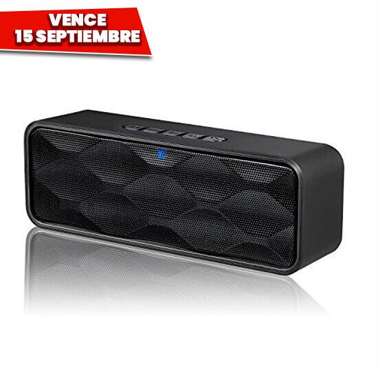 Bocina Bluetooth 6 watts Micro SD Radio FM USB. Vence 15 Septiembre