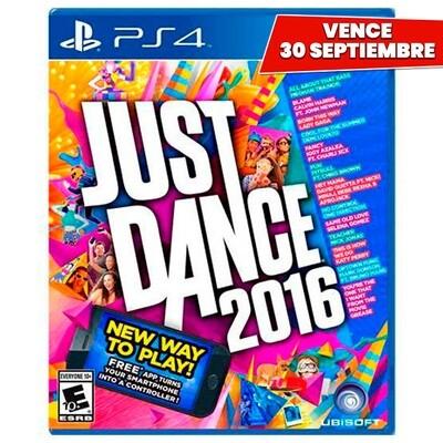 PS4 Just Dance 2016. Vence 30 Septiembre