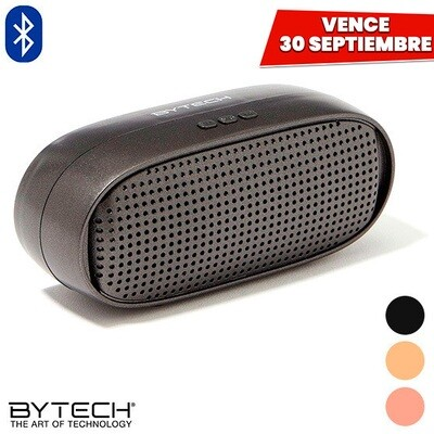 Bocina Bluetooth con Bateria Recargable. Vence 30 Septiembre