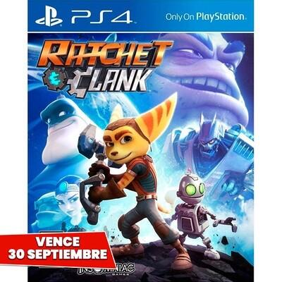 PS4 Ratchet & Clank. Vence 30 Septiembre