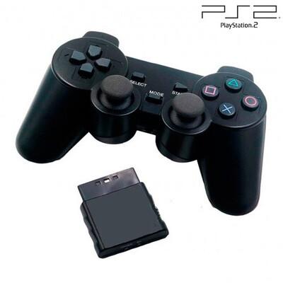 Control Inalambrico Negro PS2 (Hydra Usa)