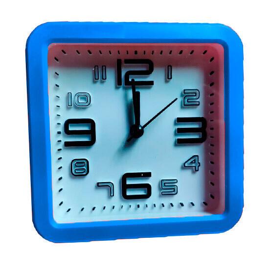 Reloj 12x12 cms