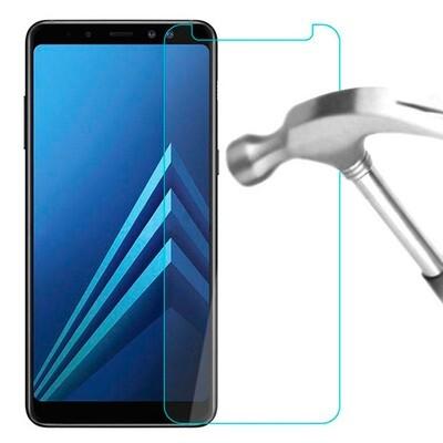 Vidrio templado para celular SAMSUNG A8+
