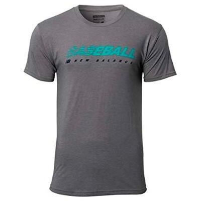 Tshirt New Balance Baseball Original Gris Talla M