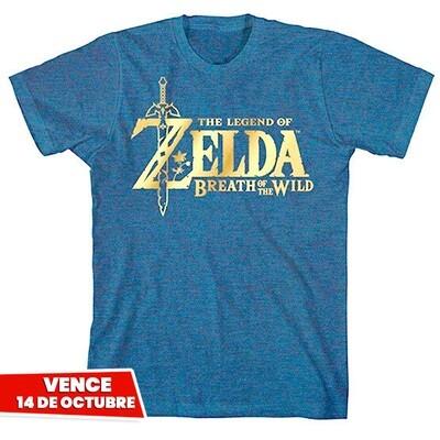 TSHIRT Zelda GOLD Nintendo Original. Vence 14 Octubre