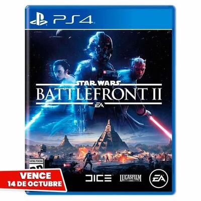 PS4 Star Wars Battlefront 2. Vence 14 Octubre