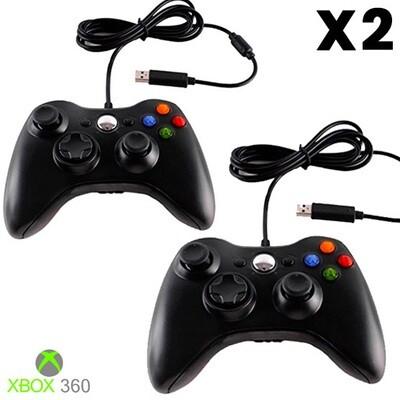 COMBO de 2: Controles Xbox 360 (Marca Hydra USA)