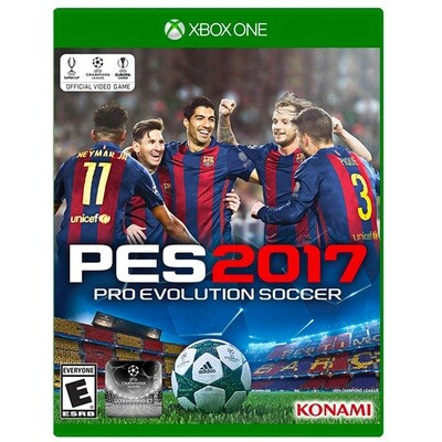 Xbox one PES Pro evolution soccer 2017