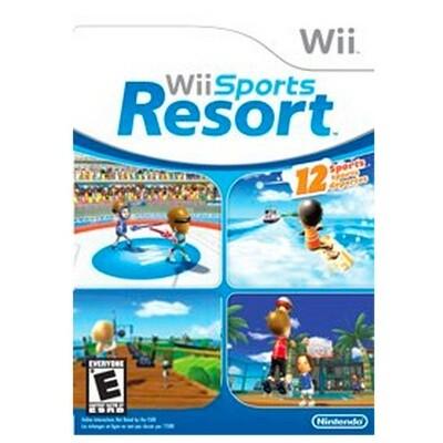 WII Sports Resort Nuevo sin caja