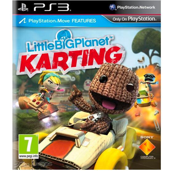 PS3 Little big Planet Karting  Nuevo sin portada