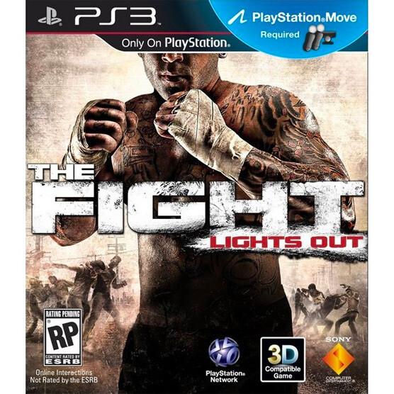 PS3 The fight lights out usado garantizado