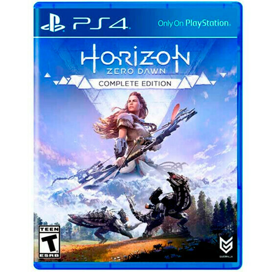 PS4 Horizon Zero dawn, Complete edition
