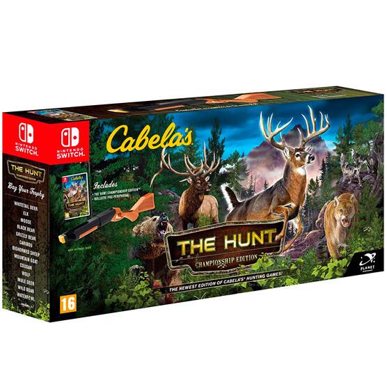 Switch Cabelas the hunt + Pistola