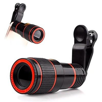 Lente  Zoom X8 para Smartphone