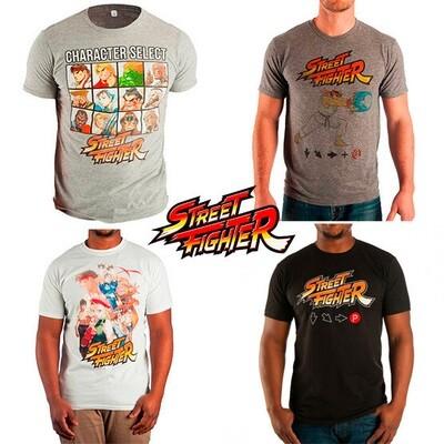 Tshirt Street Fighter Original