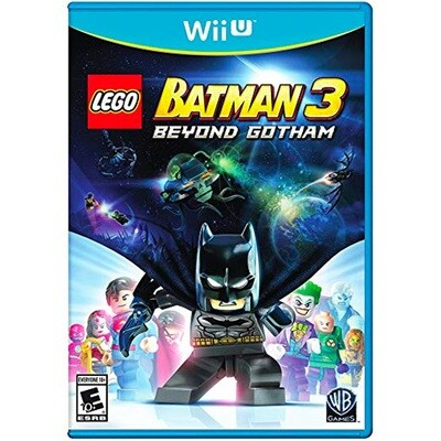 WIIU Lego Batman 3
