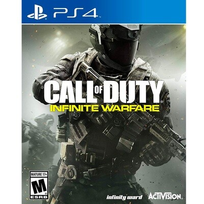 PS4 Call of duty Infinite Warfare