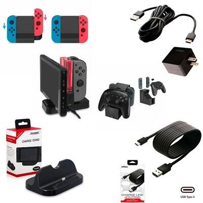 Switch Cargadores para consola y controles