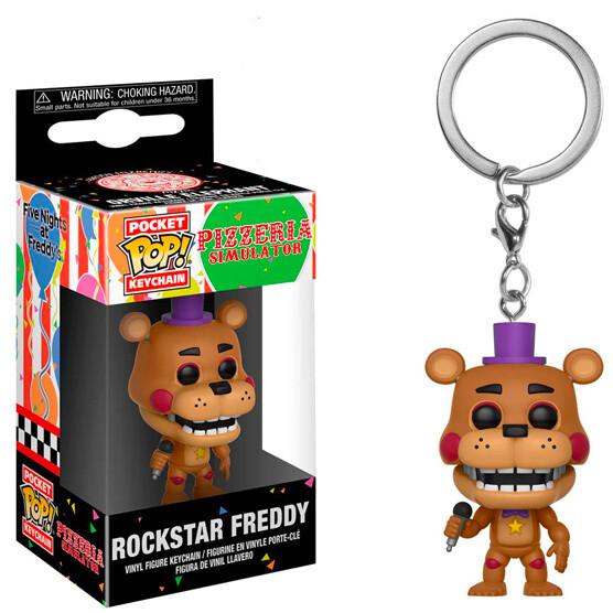 Funko Pocket FNAF Rockstar Freddy