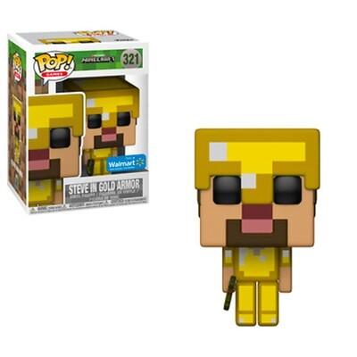 Funko POP Minecraft Steve Gold
