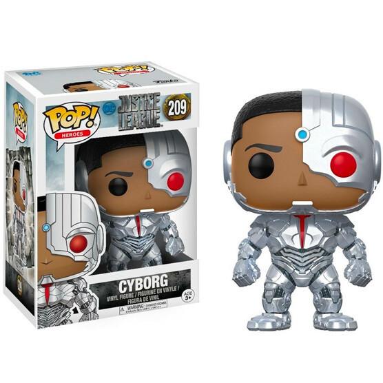 Funko POP Justice League Cyborg
