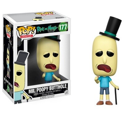 Funko POP Rick and Morty  MR Poopy Butthole