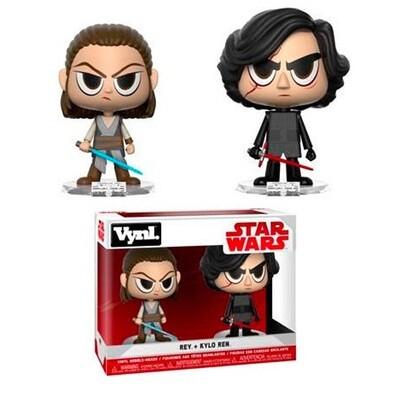 Funko Vynl Star Wars Rey + Kylo Ren
