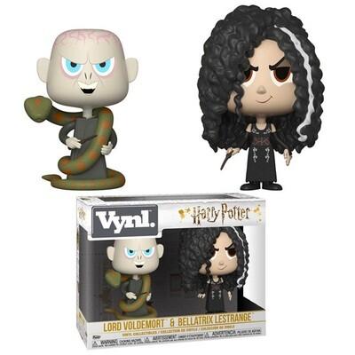 Funko Vynl Harry Potter Voldemort + Bellatrix