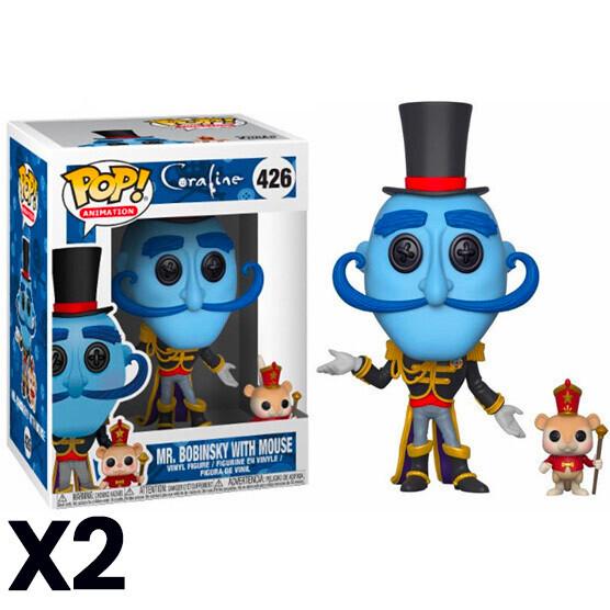 Funko POP Coraline MR Bobinsky+ Mouse
