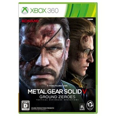X360 Metal Gear Solid V Ground Zeroes