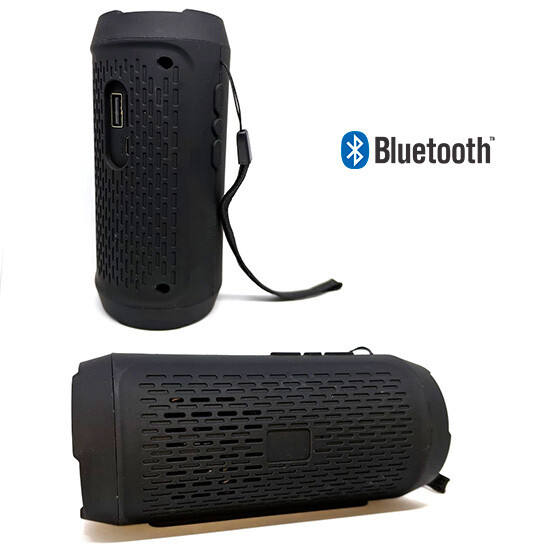Bocina bluetooth Cilindro + Micro SD