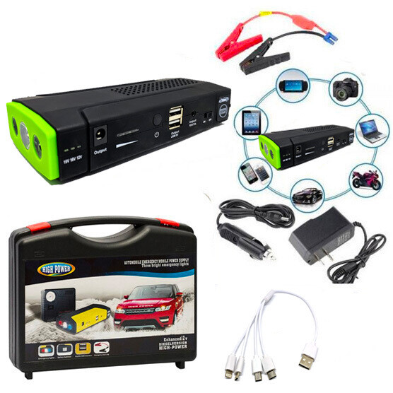 Kit de Power Bank Para Carro