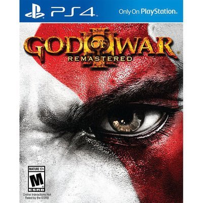 PS4 God of war III (remastered)