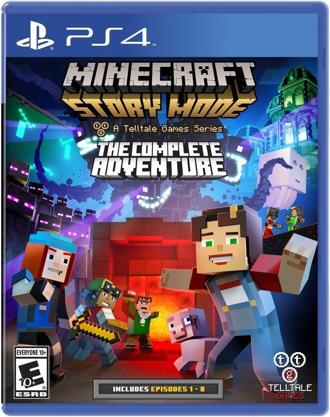 PS4 Minecraft the complete adventure