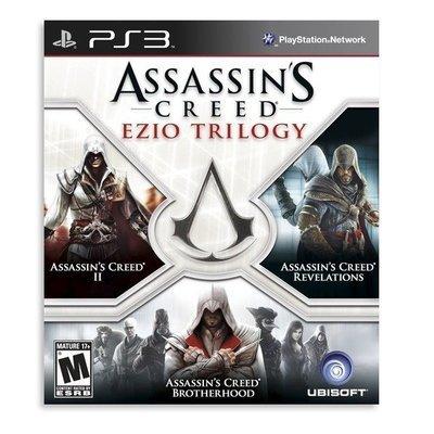PS3  Assassins Creed Ezio Trilogy (3 juegos)