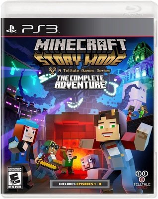 PS3 Minecraft the complete adventure