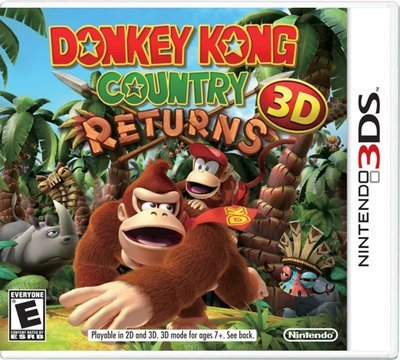 3DS Donkey Kong Country returns