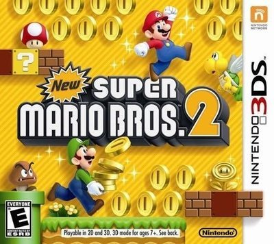 3DS New Super Mario Brothers 2