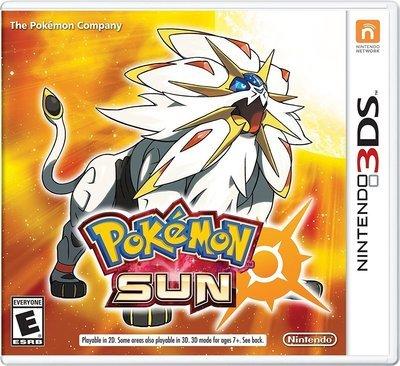 3DS Pokemon Sun