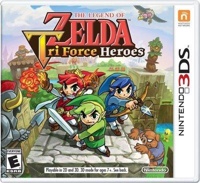 3DS Zelda Tri Force Heroes