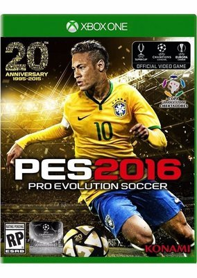 XBOX ONE PES Pro Evolution Soccer 2016