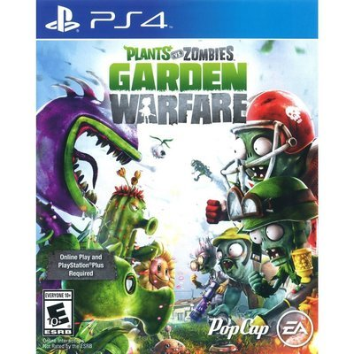 PS4 Plant vs Zombies Garden Warfare