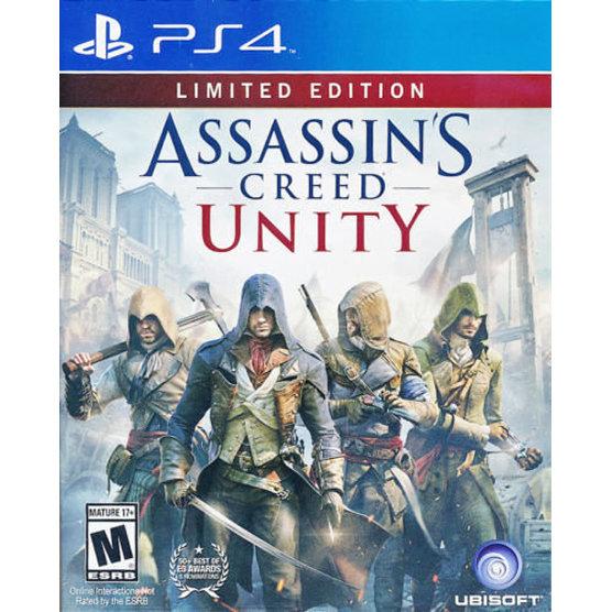 PS4 Assassins Creed Unity